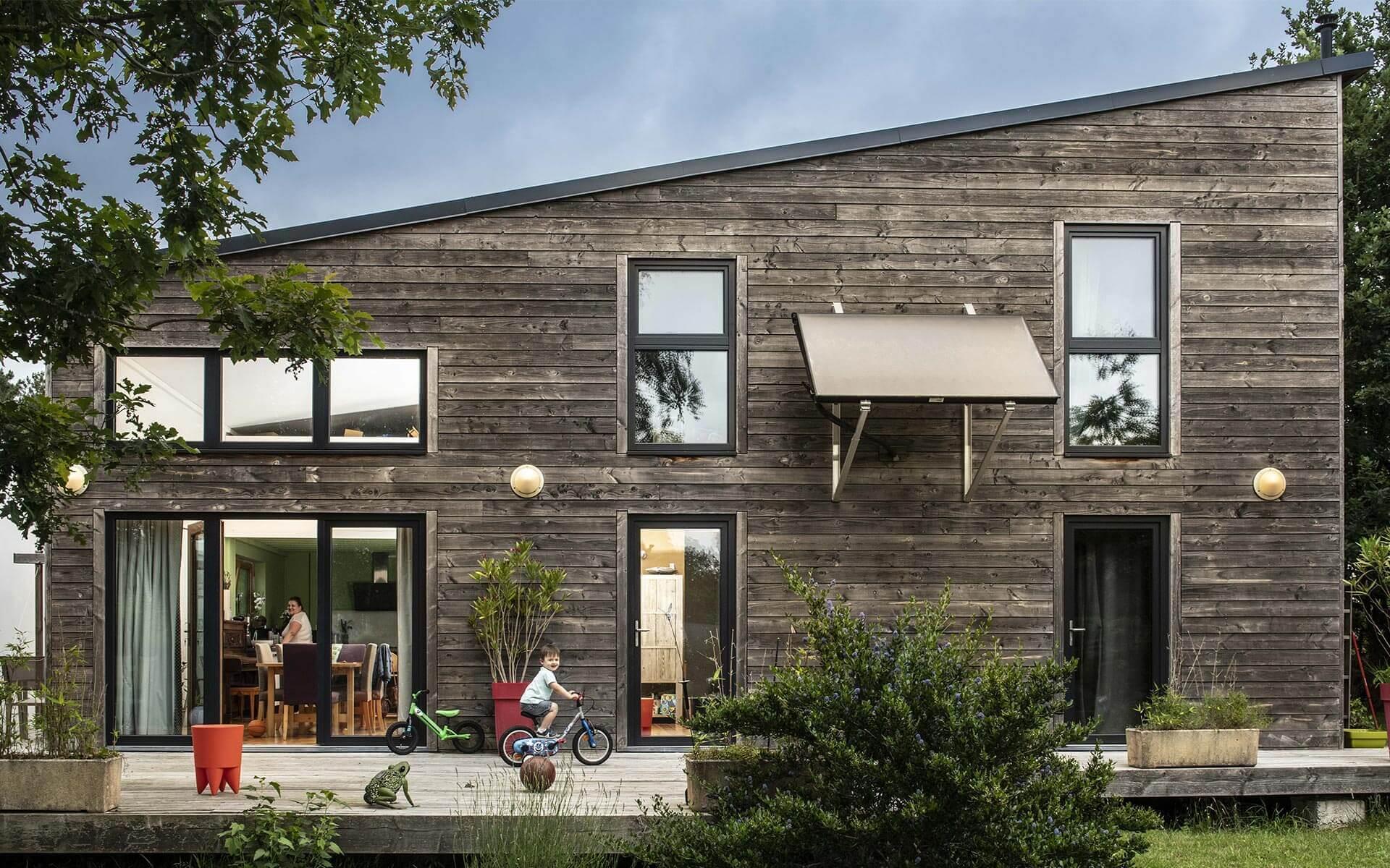 Autrement Bois Constrution, maison passive