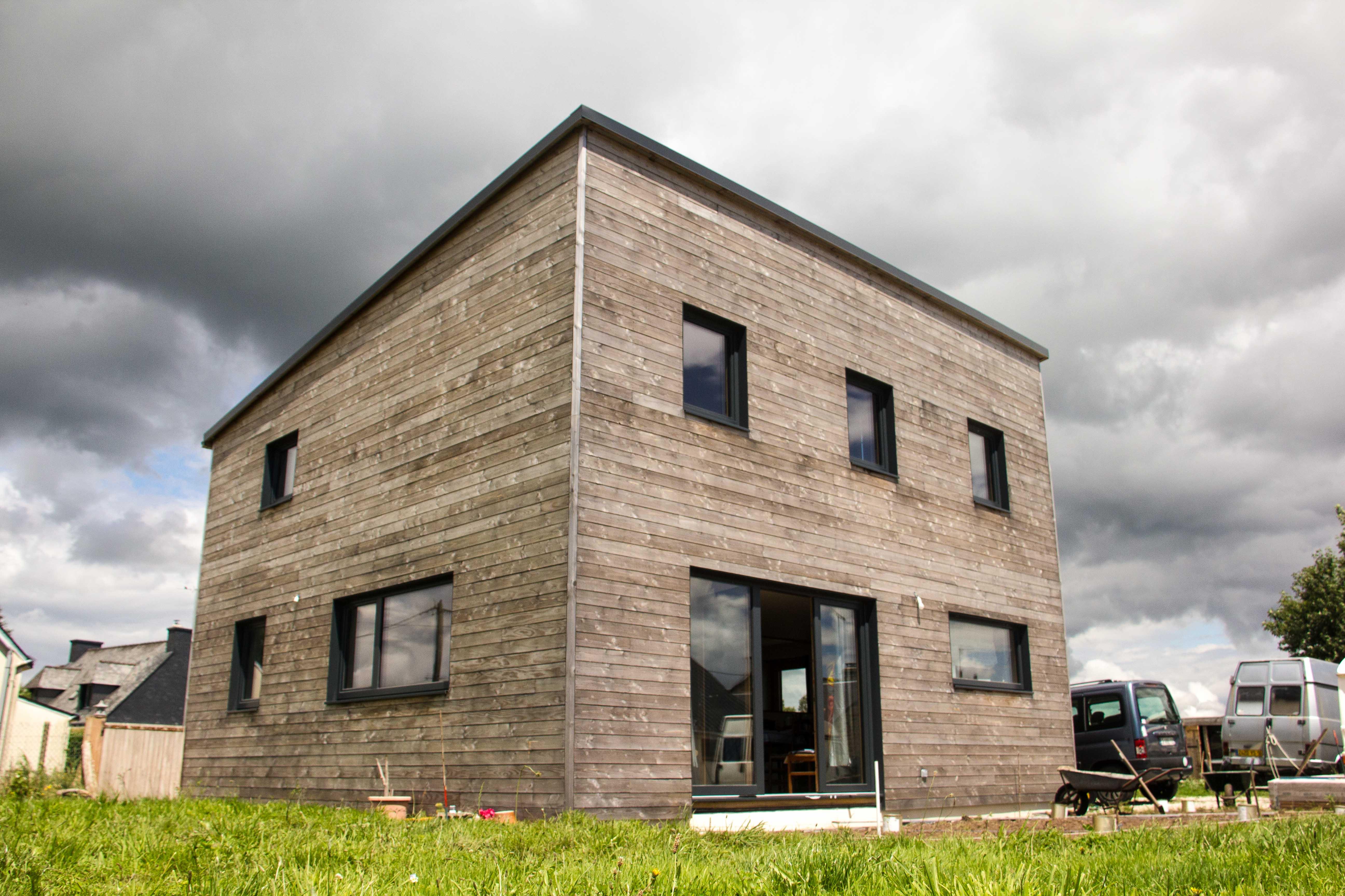 Maison passive à Limerzel