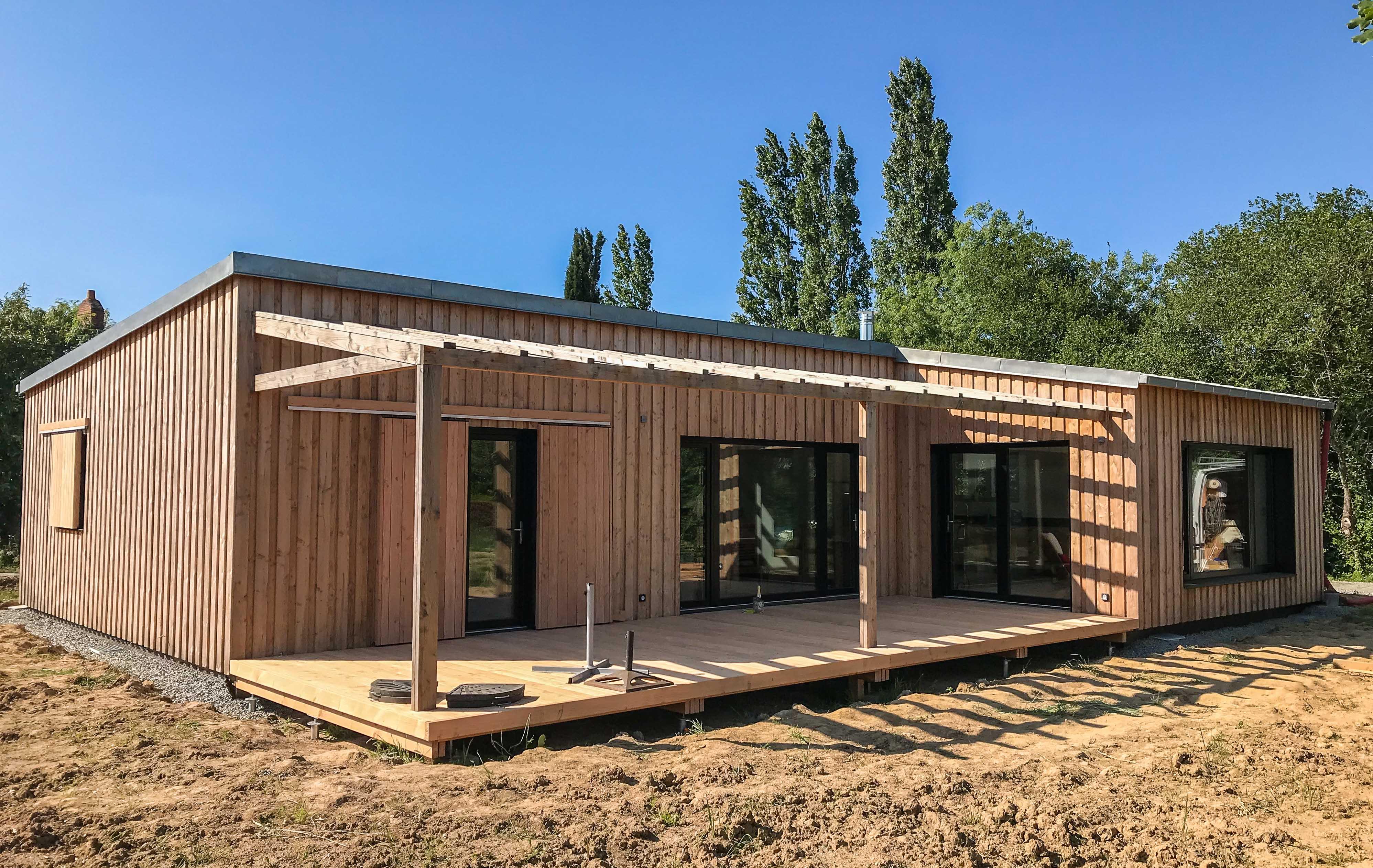 Maison passive à Nort-sur-Erdre