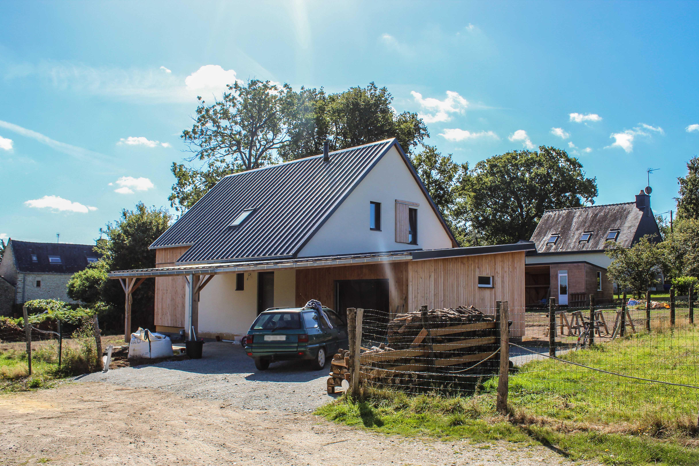 Maison passive à Questembert