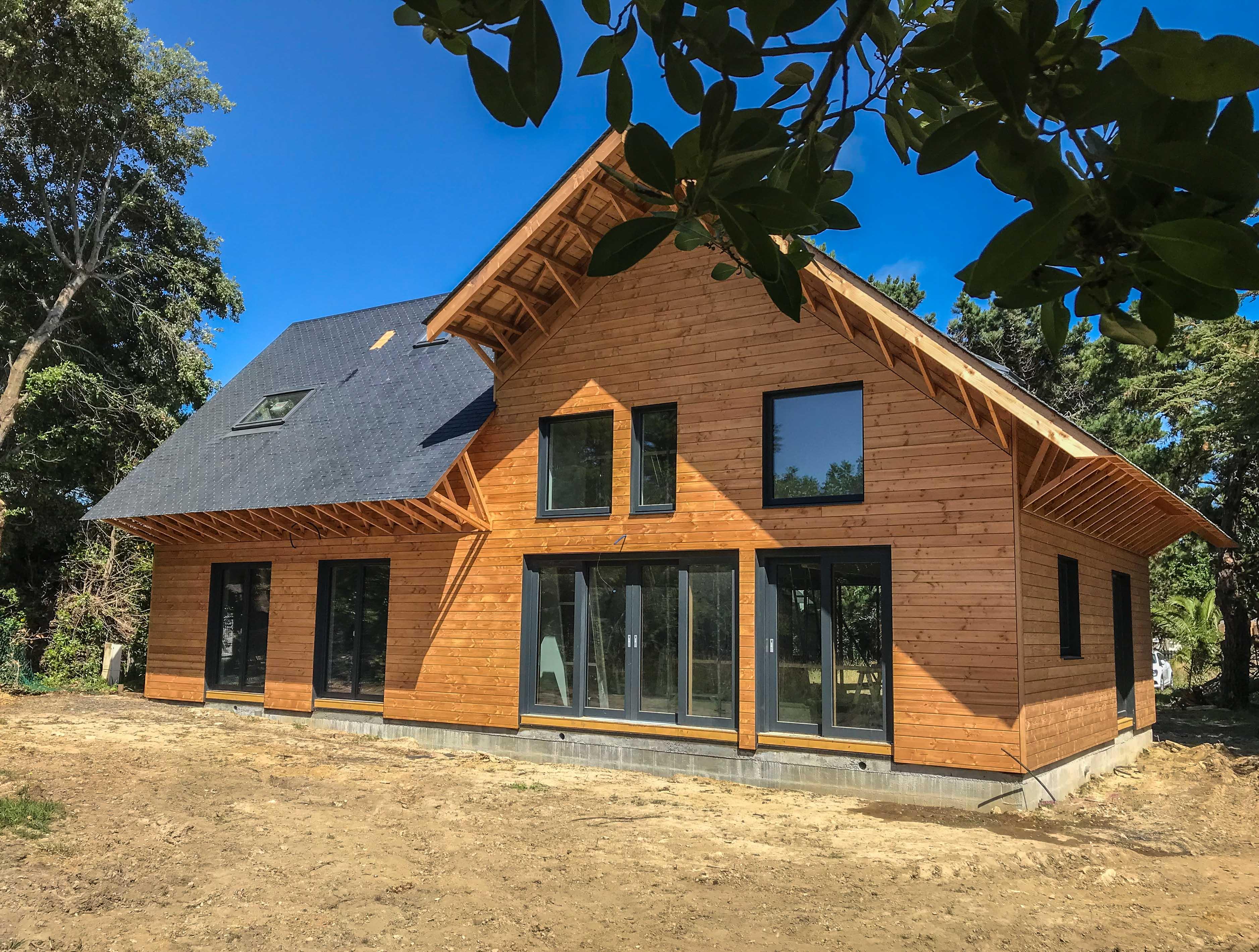 Projet de maison passive à Sarzeau